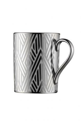 Kütahya Porselen Forest 2′li Mug Bardak Platin 10932 - Thumbnail (2)