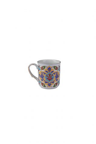 Kütahya Porselen - Kütahya Porselen Kupa Bardak Dekor No:690
