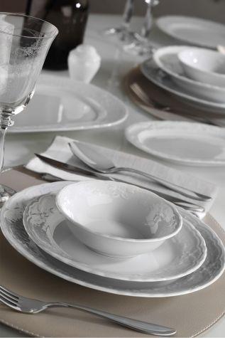 Kütahya Porselen - Kütahya Porselen Lalezar 24 Parça Yemek Seti