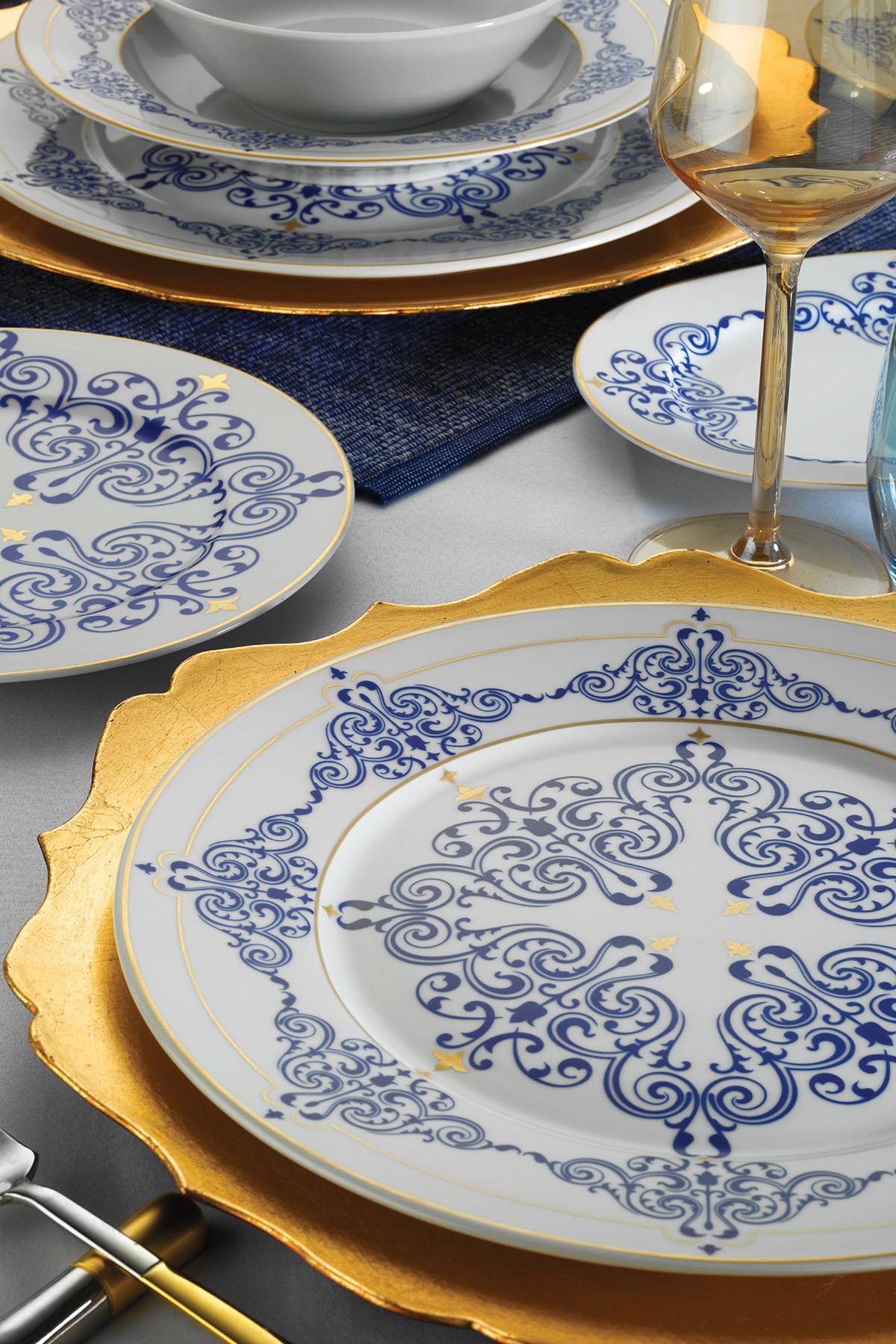 KÜTAHYA PORSELEN - Kütahya Porselen Leonberg 50 Parça 10302 Desen Yemek Takımı