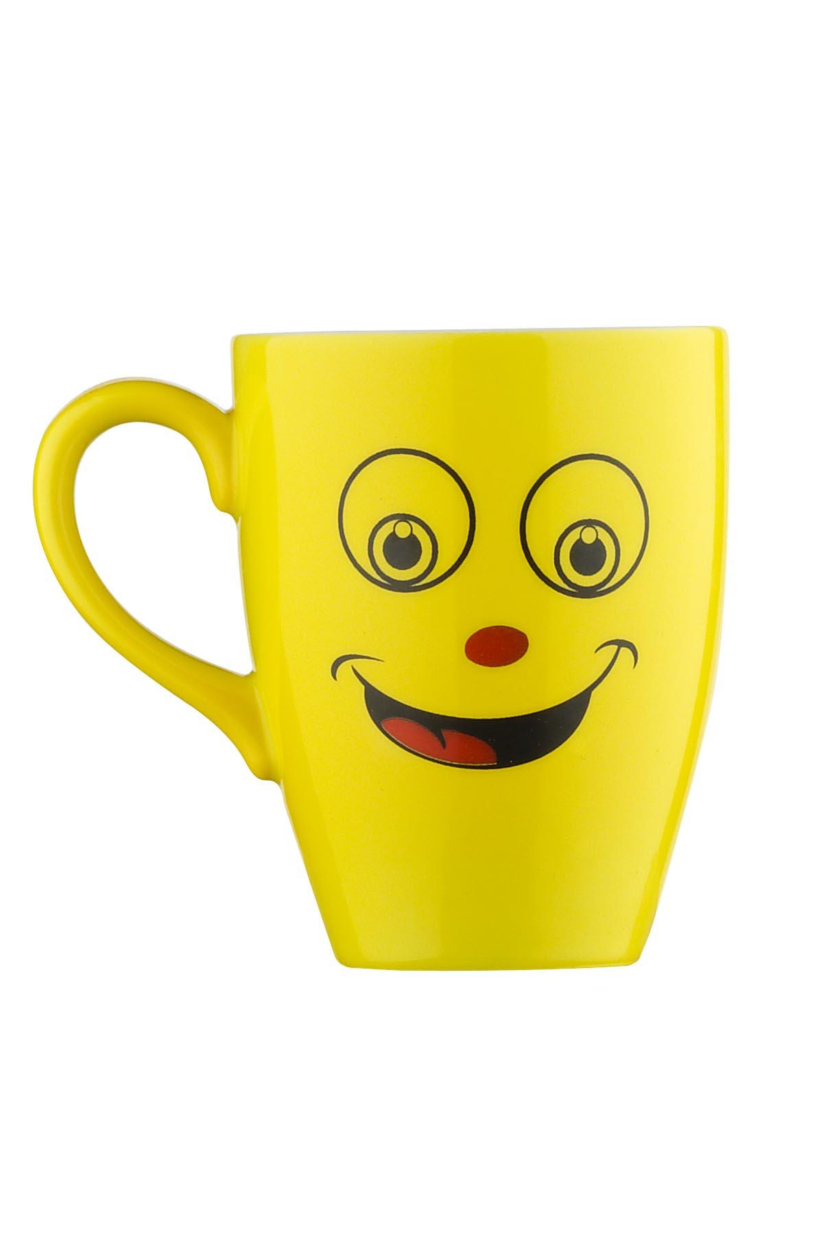 Kütahya Porselen Lima Emoji Mug Bardak
