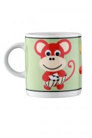 Kütahya Porselen Maymunlu Mama Takımı - Thumbnail