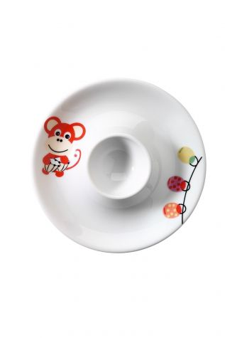 Kütahya Porselen Maymunlu Mama Takımı - Thumbnail (2)