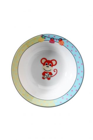 Kütahya Porselen Maymunlu Mama Takımı - Thumbnail (3)
