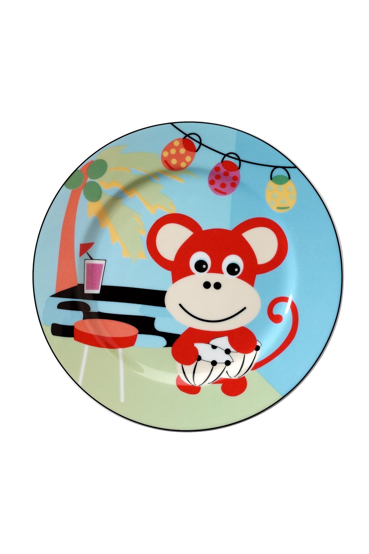 Kütahya Porselen Maymunlu Mama Takımı