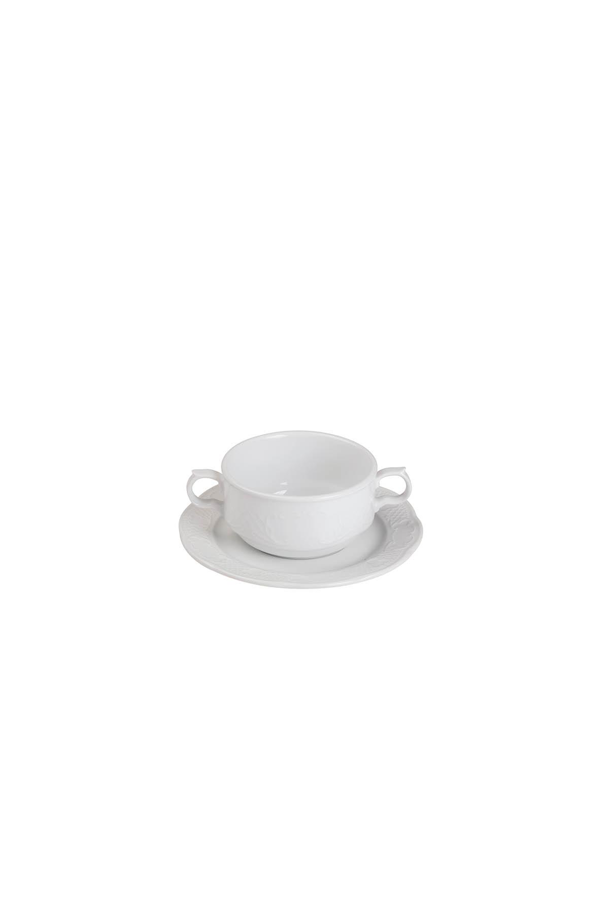 Kütahya Porselen - Kütahya Porselen Menuet 10 cm Dondurmalık Tabaklı