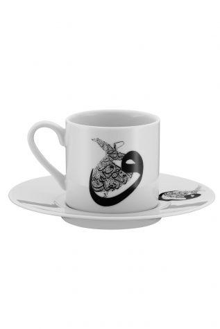 Kütahya Porselen - Kütahya Porselen Mevlana Kahve Takımı 10448