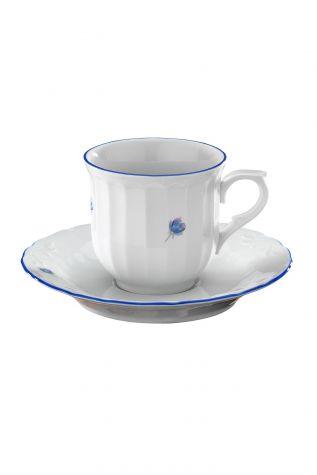 Kütahya Porselen - Kütahya Porselen Mina Mavi Çay Takımı