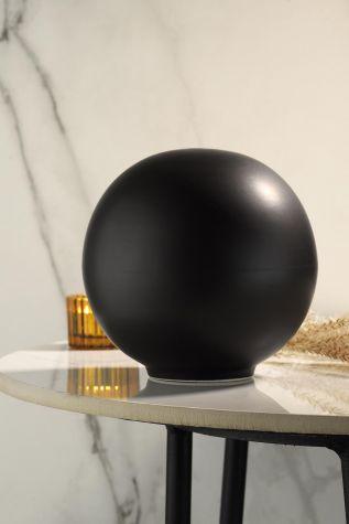 Kütahya Porselen - Kütahya Porselen Modern 14 cm Küre Mat Siyah