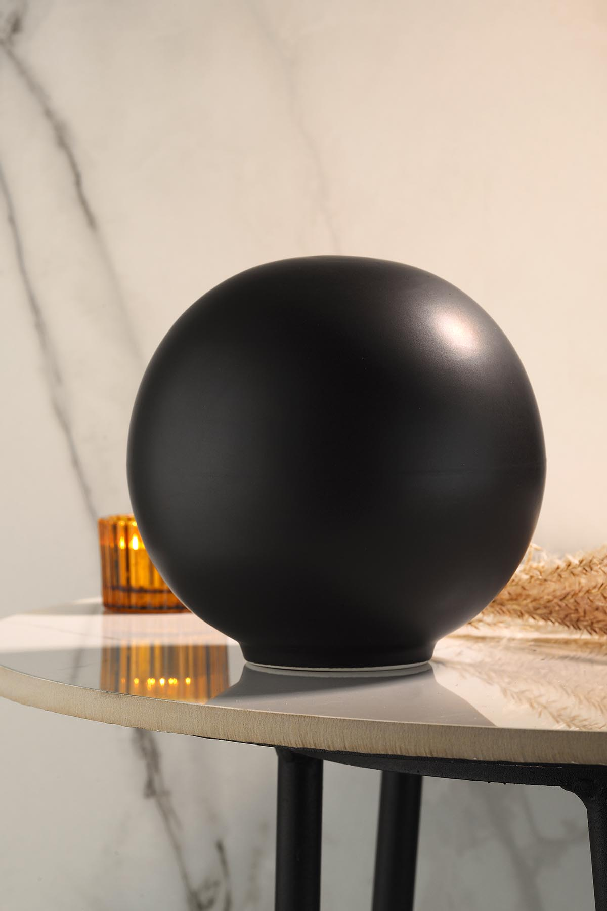 Kütahya Porselen Modern 19 cm Kure Mat Siyah