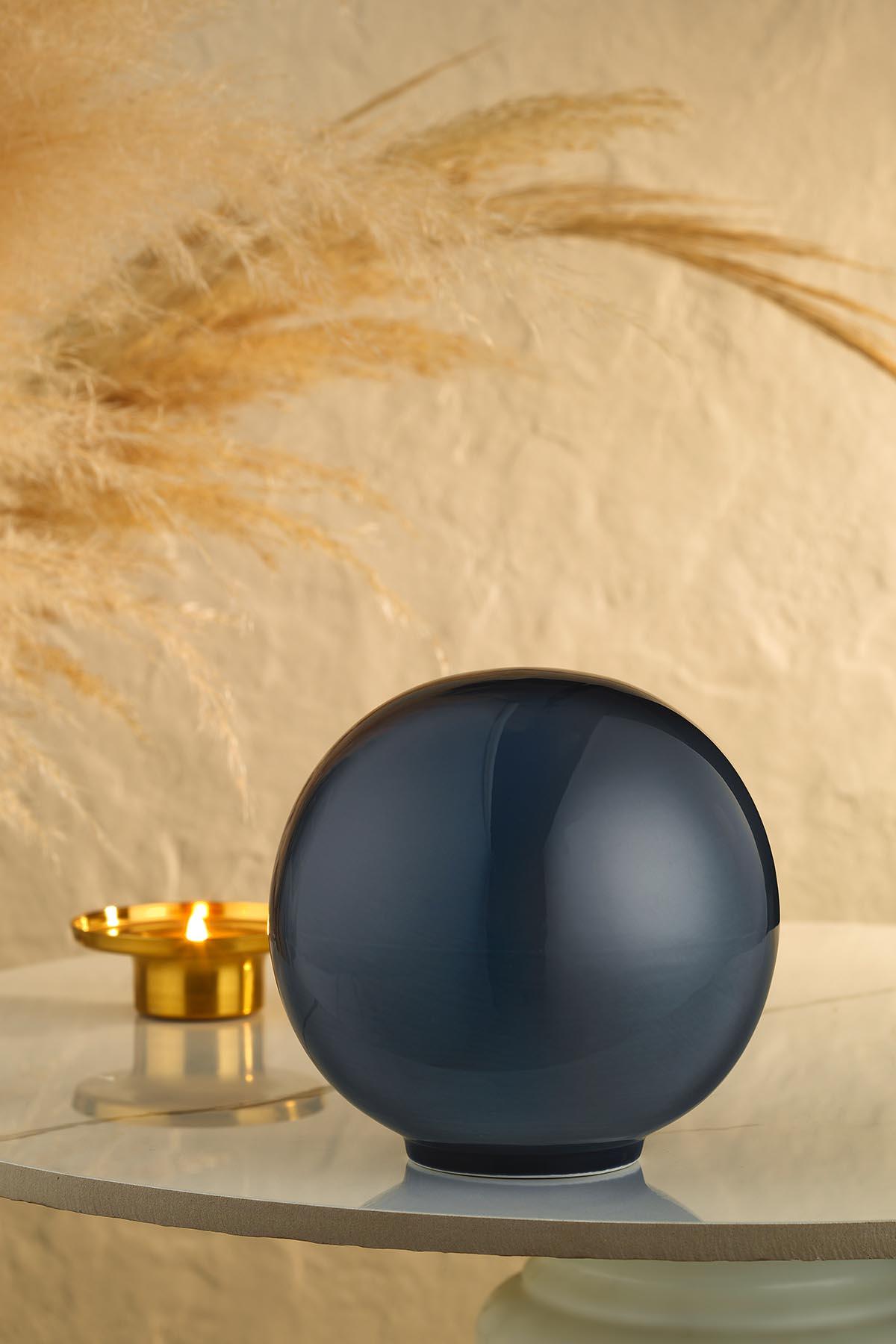 Kütahya Porselen Modern 19 cm Kure Lacivert