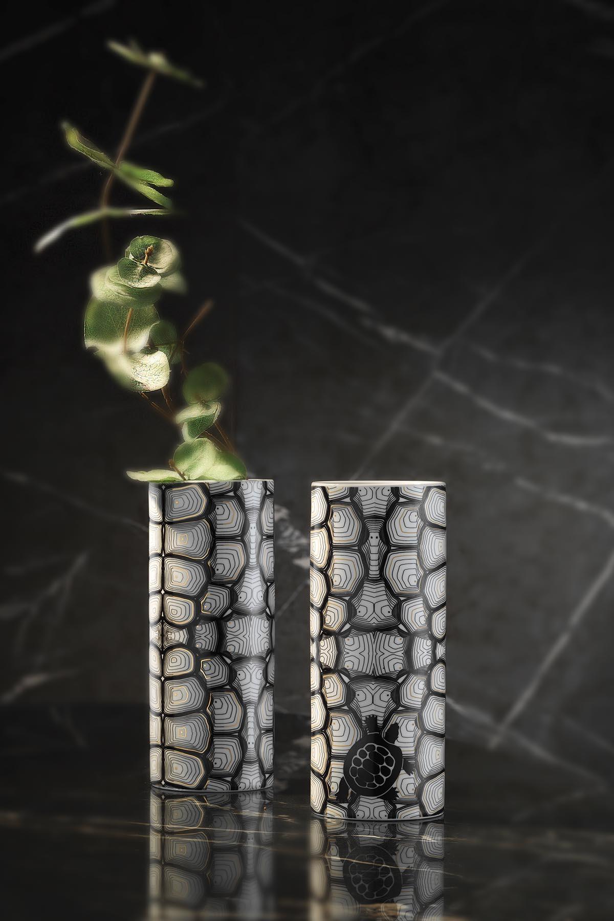 Kütahya Porselen Modern 2 Parça Vazo Takımı 109192
