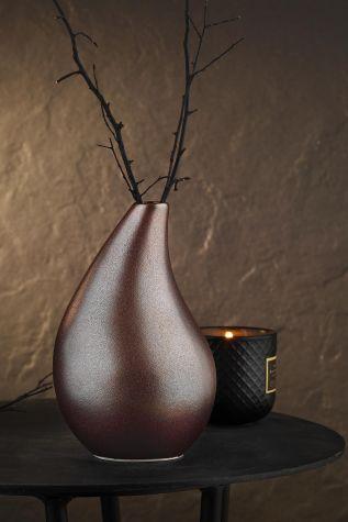 Kütahya Porselen - Kütahya Porselen Modern 20 cm Vazo 855A06