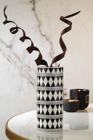 Kütahya Porselen - Kütahya Porselen Modern 20 cm Vazo 10957