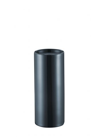 Kütahya Porselen Modern 20 cm Vazo Lacivert - Thumbnail (1)