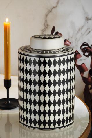 KÜTAHYA PORSELEN - Kütahya Porselen Modern 29 cm Vazo 10957