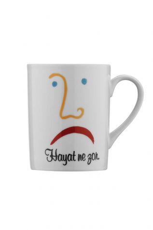 Kütahya Porselen Forest Mug Bardak 107592 - Thumbnail (1)