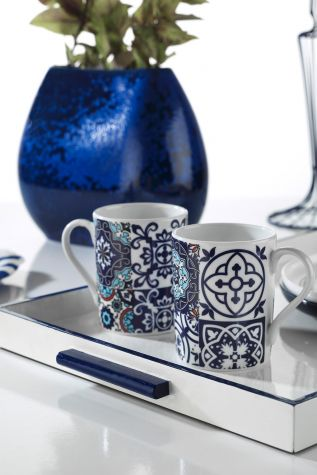 Kütahya Porselen - Kütahya Porselen Mug Bardak 9429