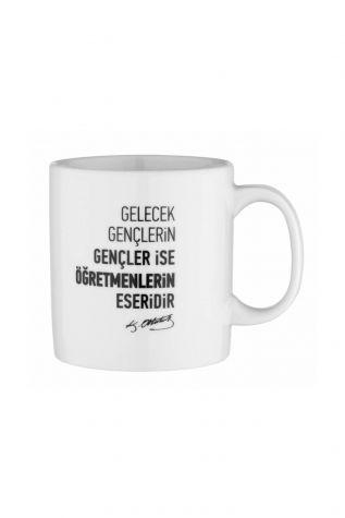 Kütahya Porselen Mug Bardak Special Coll. Atatürk 10430 - Thumbnail (1)