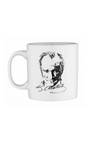 Kütahya Porselen - Kütahya Porselen Mug Bardak Special Coll. Atatürk 10431