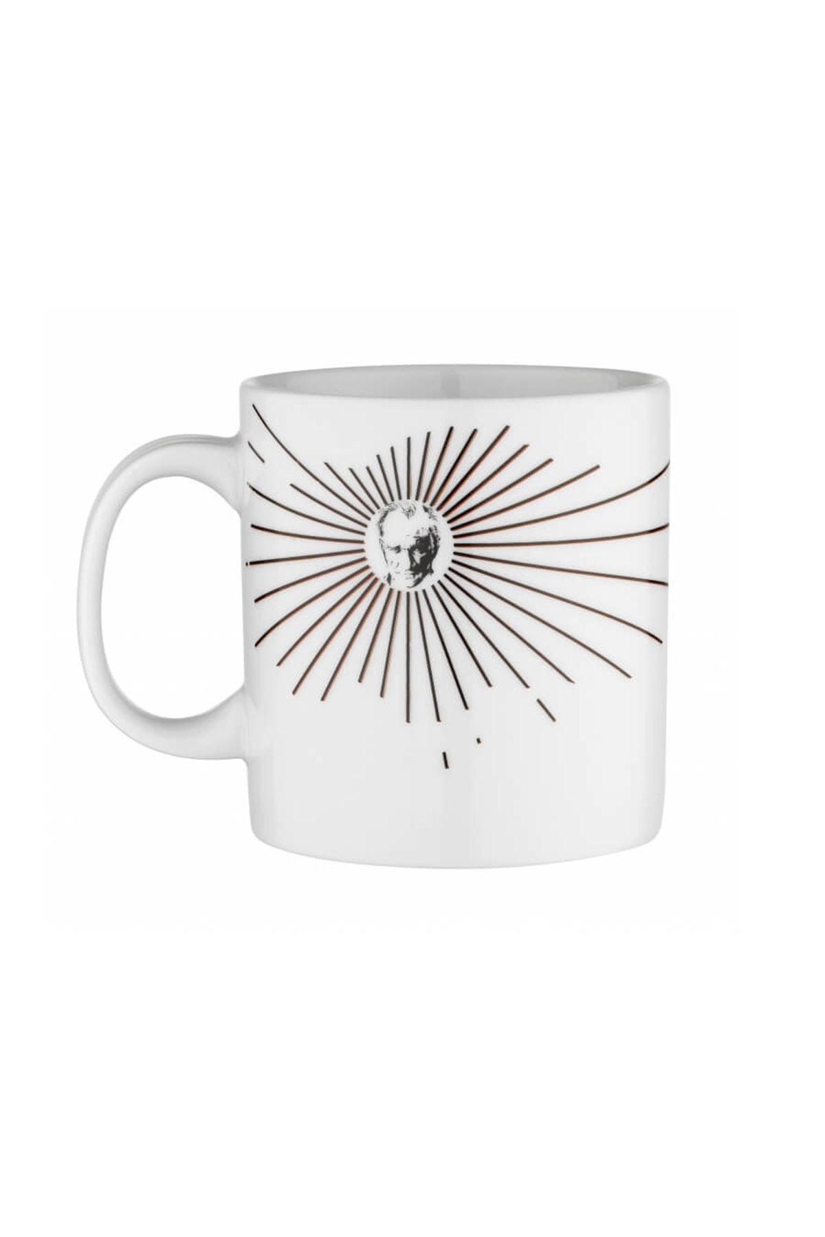 KÜTAHYA PORSELEN - Kütahya Porselen Mug Bardak Special Coll. Atatürk 10432