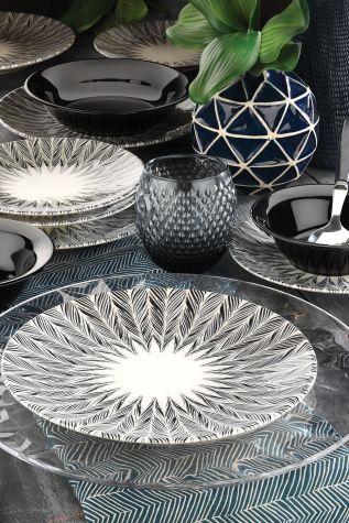 Kütahya Porselen Nanoceram 24 Parça Yemek Seti 89075 - Thumbnail (1)