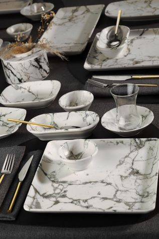 Kütahya Porselen Nanokrem 32 Parça Kahvaltı Takımı 893313 - Thumbnail (1)