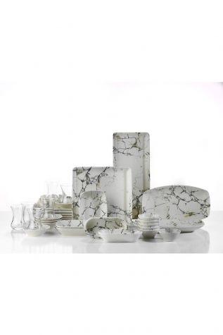 Kütahya Porselen Nanokrem 32 Parça Kahvaltı Takımı 893313 - Thumbnail (2)