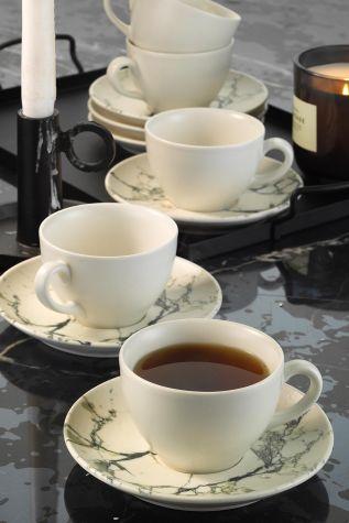 Corendon - Kütahya Porselen Nanokrem Çay Takımı 893313