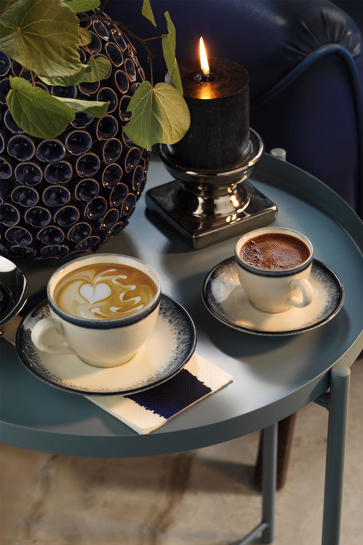 CORENDDON - Kütahya Porselen Nanokrem Kahve Takımı 890004