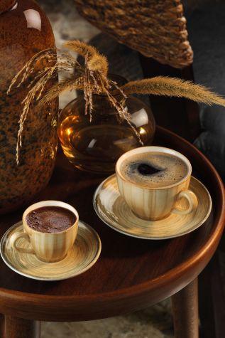 CORENDDON - Kütahya Porselen Nanokrem Kahve Takımı 891001