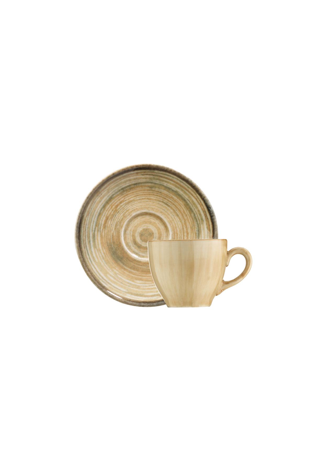 Kütahya Porselen Nanokrem Kahve Takımı 891001