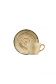 Kütahya Porselen Nanokrem Kahve Takımı 891001 - Thumbnail