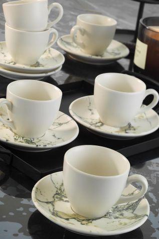 Corendon - Kütahya Porselen Nanokrem Kahve Takımı 893313