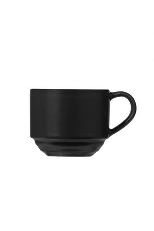 Kütahya Porselen New Tuvana Kahve Takımı Antrasit - Thumbnail (2)