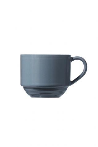 Kütahya Porselen New Tuvana Kahve Takımı Gri - Thumbnail (2)