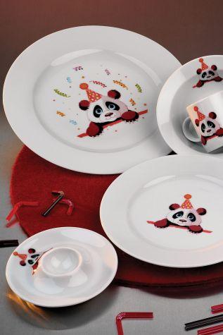 Kütahya Porselen - Kütahya Porselen Meraklı Panda Mama Takımı