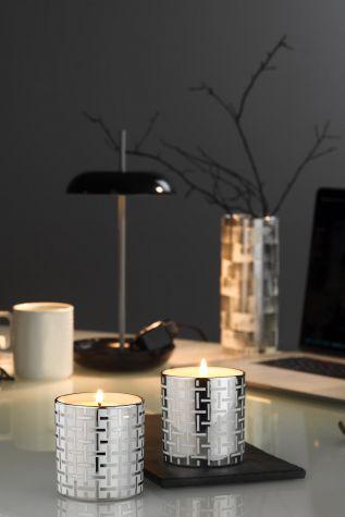 Kütahya Porselen - Kütahya Porselen Platin Kaplama 2'li Bardak Mum