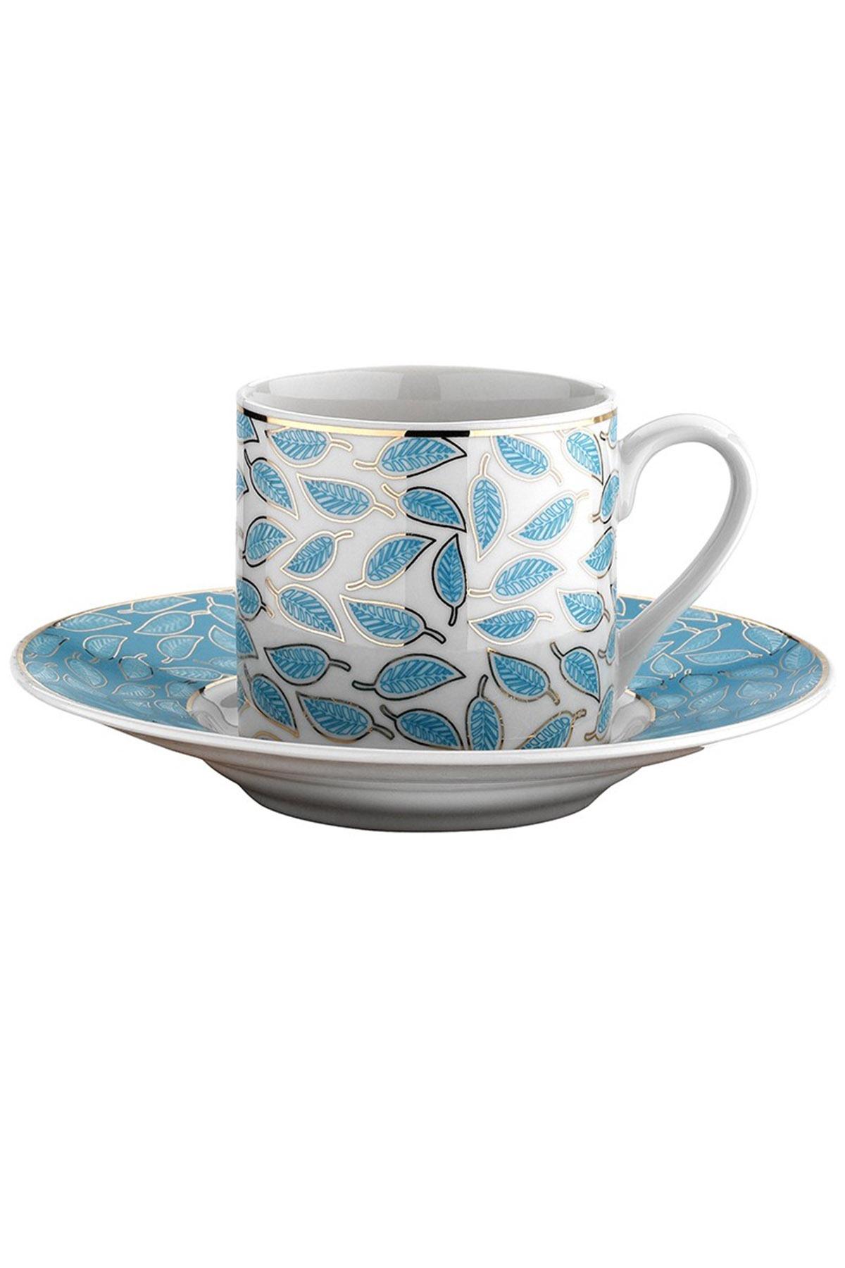 Kütahya Porselen - Kütahya Porselen Rüya 77491 Desen Kahve Fincan Takımı