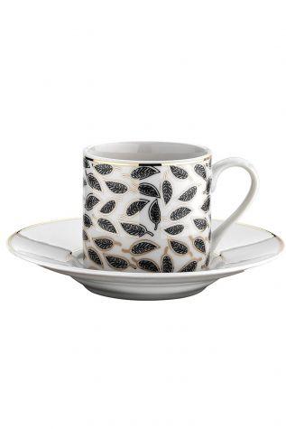 Kütahya Porselen - Kütahya Porselen Rüya 774912 Desen Kahve Fincan Takımı
