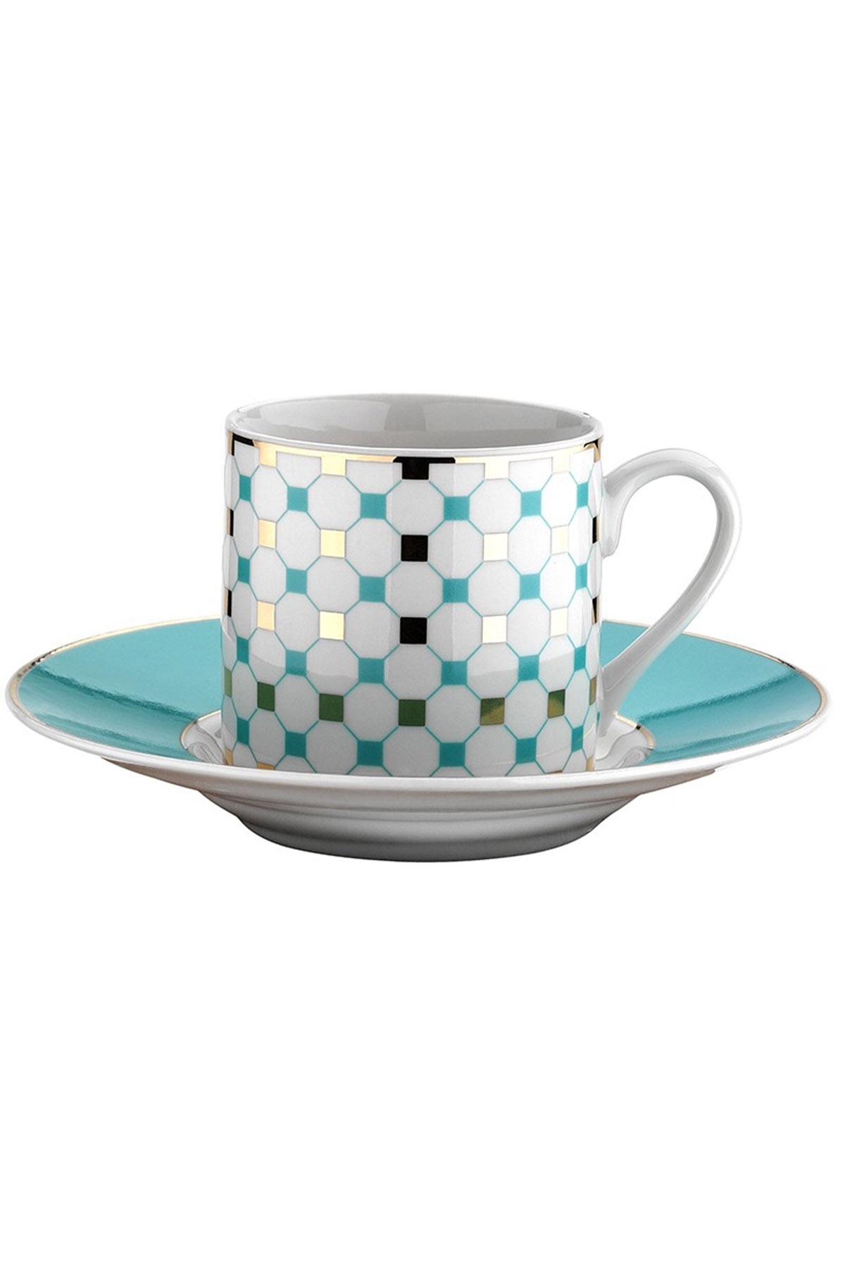 Kütahya Porselen - Kütahya Porselen Rüya 769714 Desen Kahve Fincan Takımı