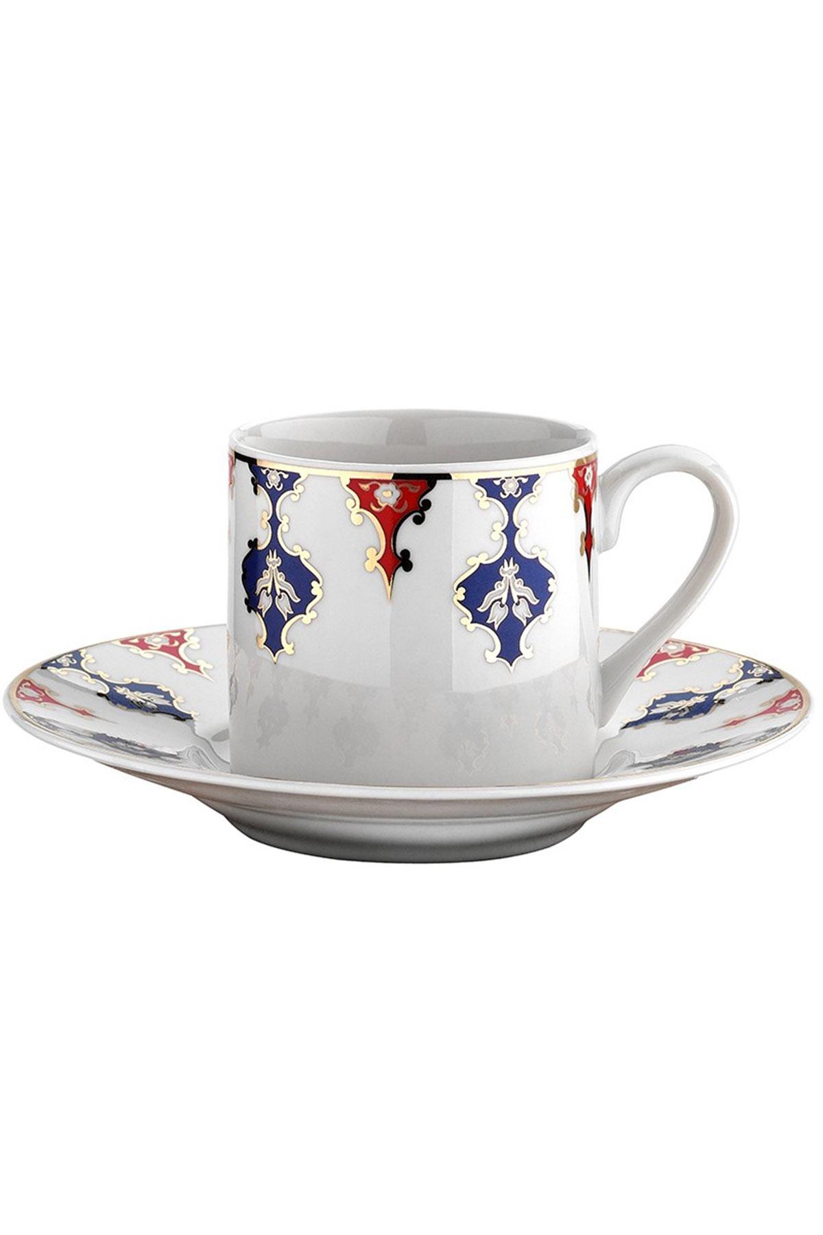 KÜTAHYA PORSELEN - Kütahya Porselen Rüya 7710 Desen Kahve Fincan Takımı