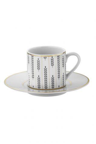 Kütahya Porselen - Kütahya Porselen Rüya 7723 Desen Kahve Fincan Takımı