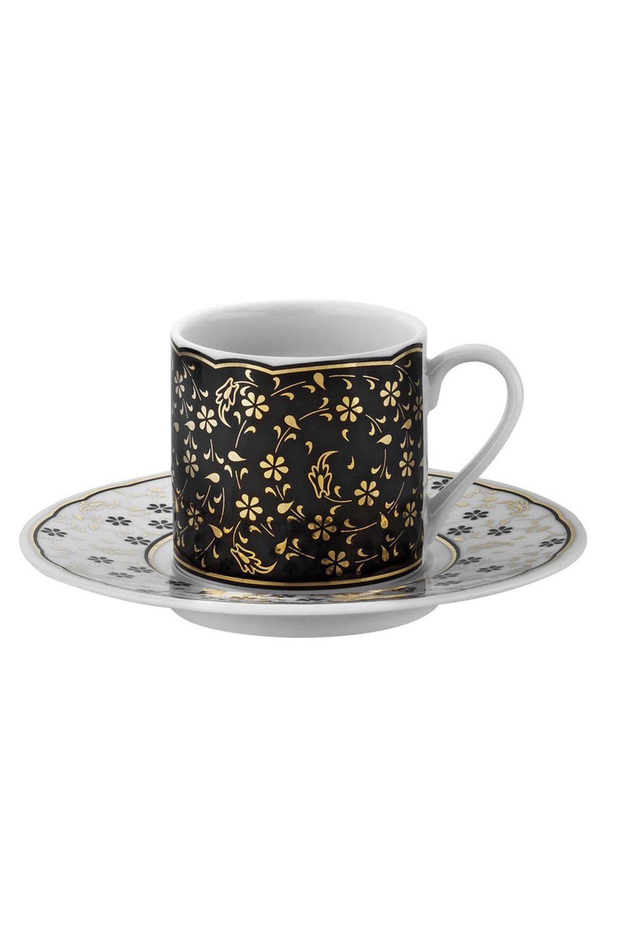 Kütahya Porselen - Kütahya Porselen Rüya 7741122 Desen Kahve Fincan Takımı