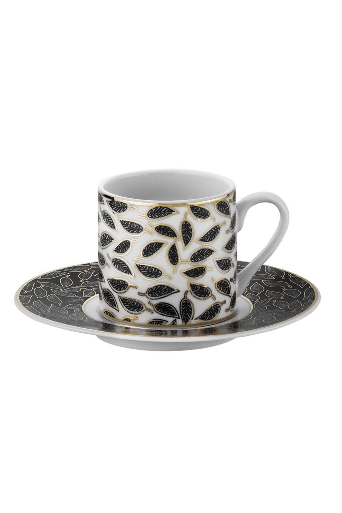Kütahya Porselen - Kütahya Porselen Rüya 7749122 Desen Kahve Fincan Takımı