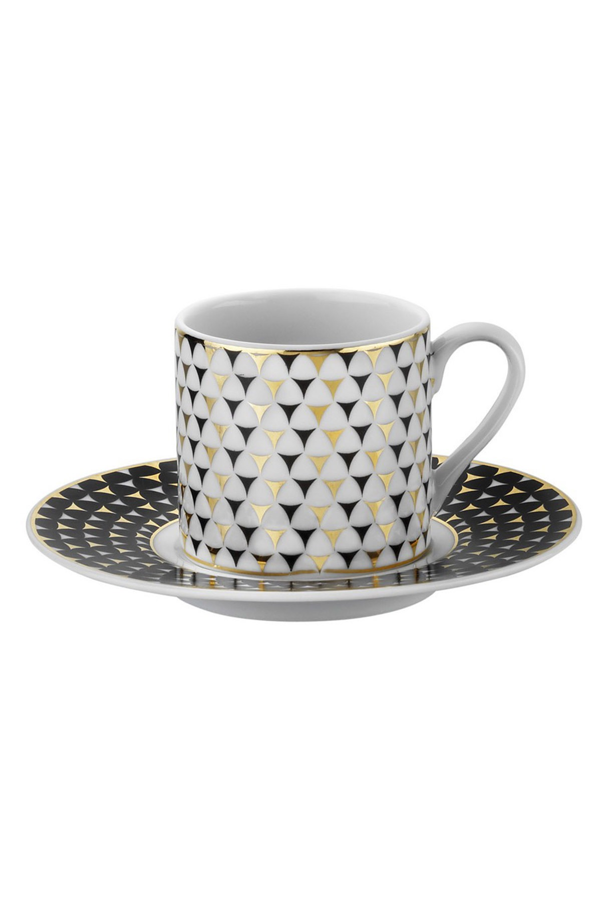 Kütahya Porselen - Kütahya Porselen Rüya 775112 Desen Kahve Fincan Takımı