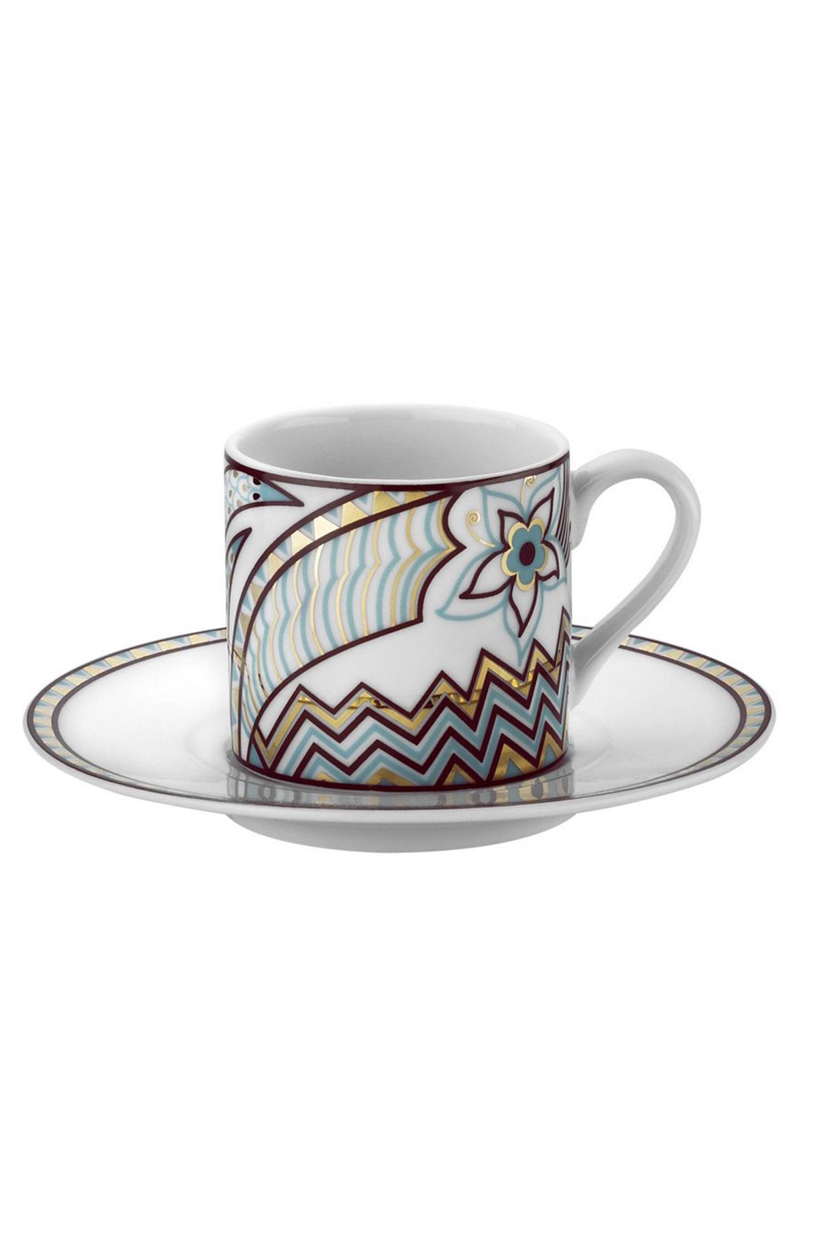 KÜTAHYA PORSELEN - Kütahya Porselen Rüya 9063 Desen Kahve Fincan Takımı