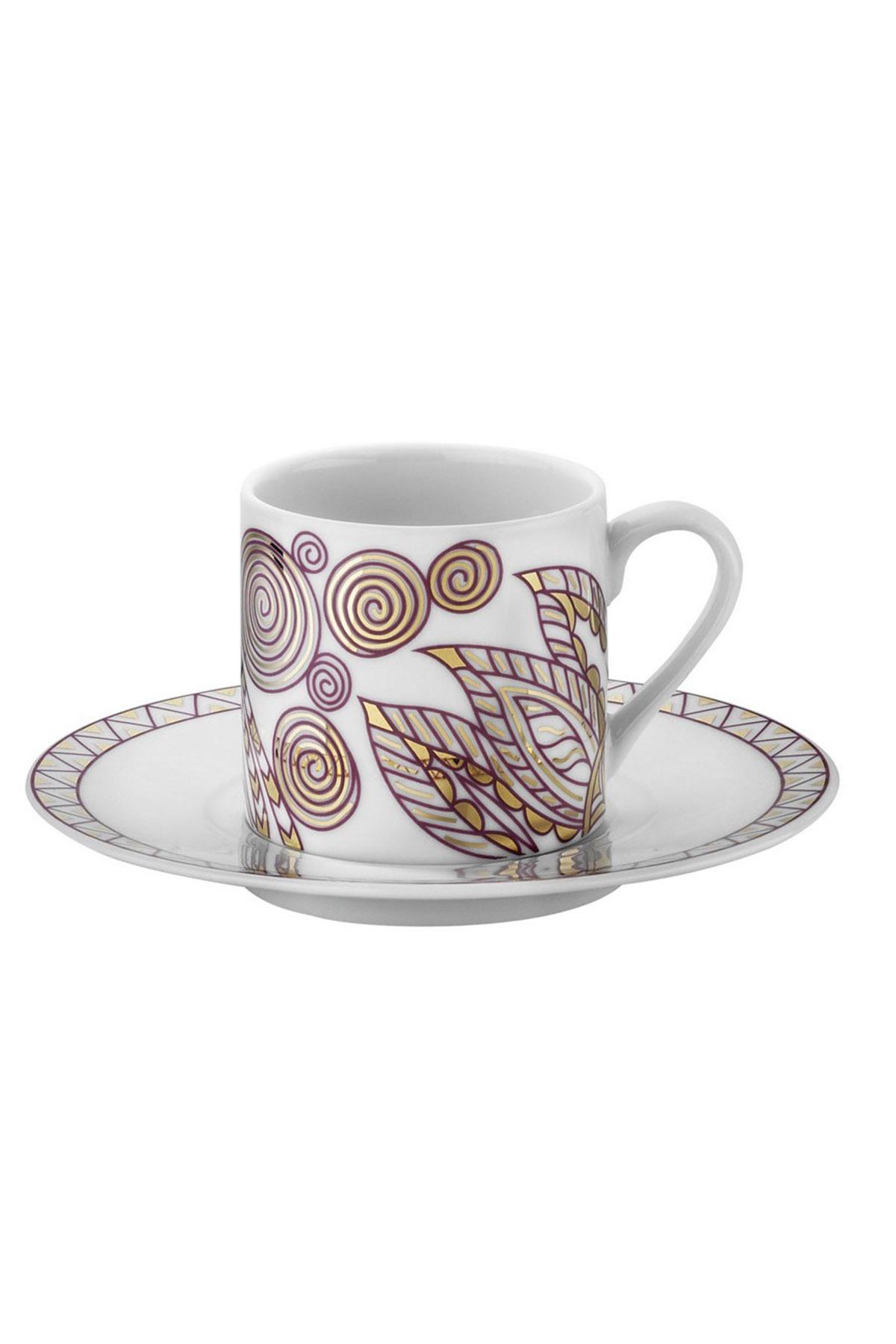 Kütahya Porselen Rüya 9233 Desen Kahve Fincan Takımı