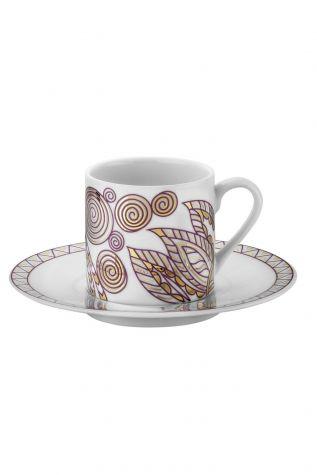 Kütahya Porselen - Kütahya Porselen Rüya 9233 Desen Kahve Fincan Takımı