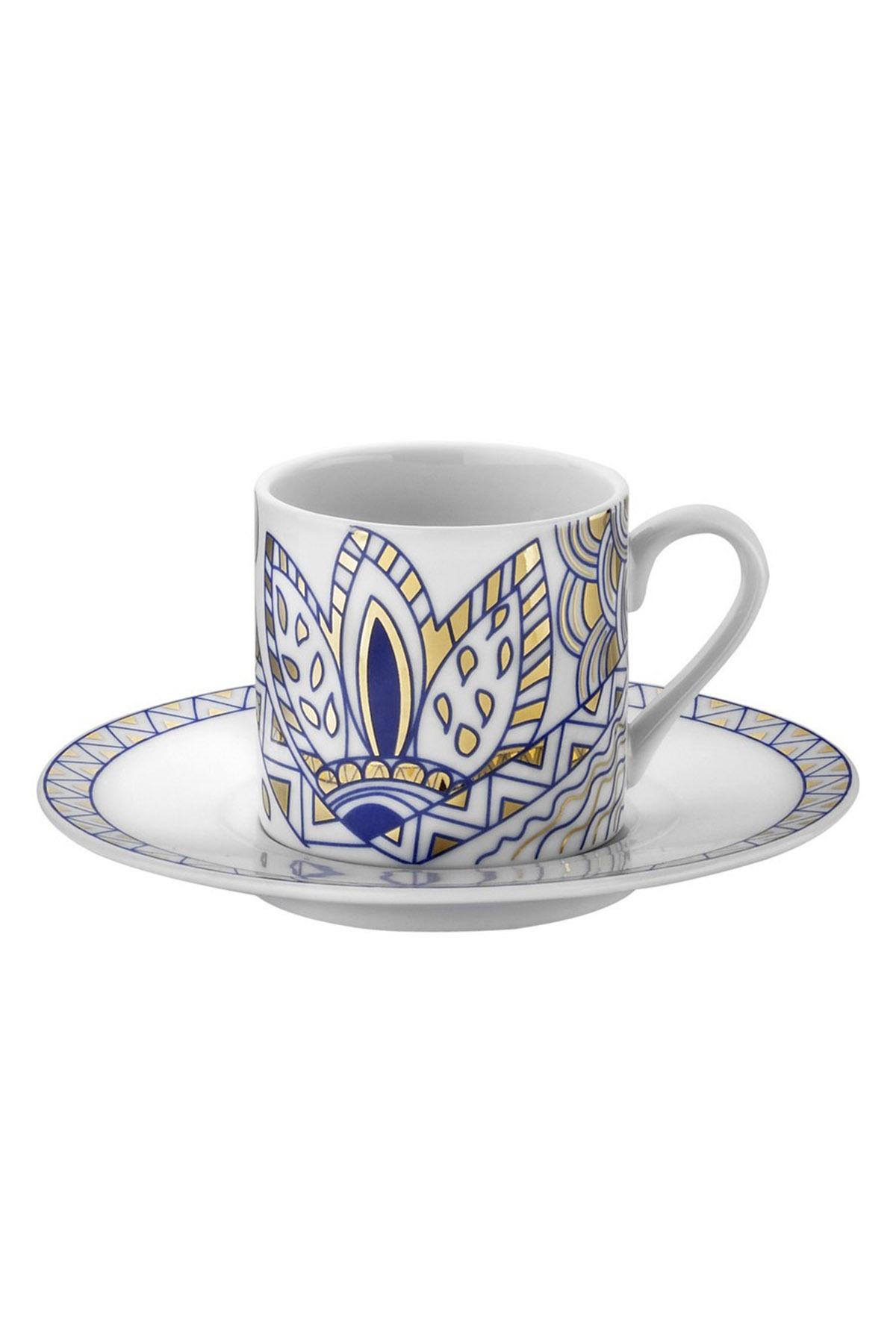Kütahya Porselen Rüya 9234 Desen Kahve Fincan Takımı